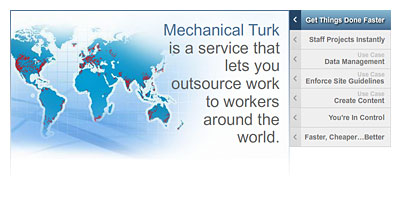 Amazon | Mechanical Turk