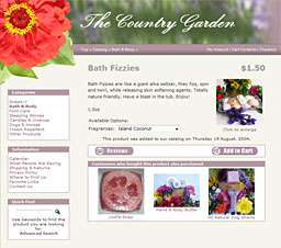 The Country Garden | Product Page