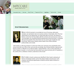 Impeccable | Staff Bios