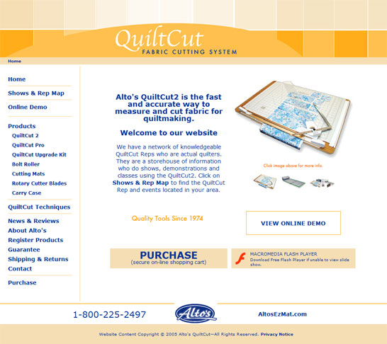 QuiltCut | Home Page