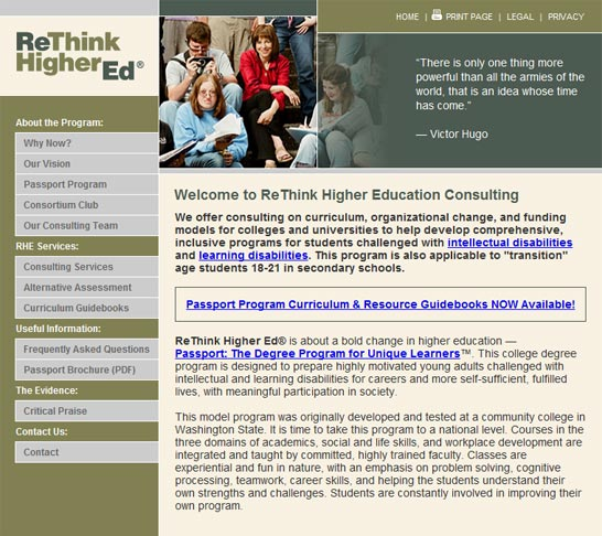 ReThink Higher Ed | Home Page